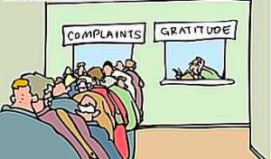 complaintsgratitude