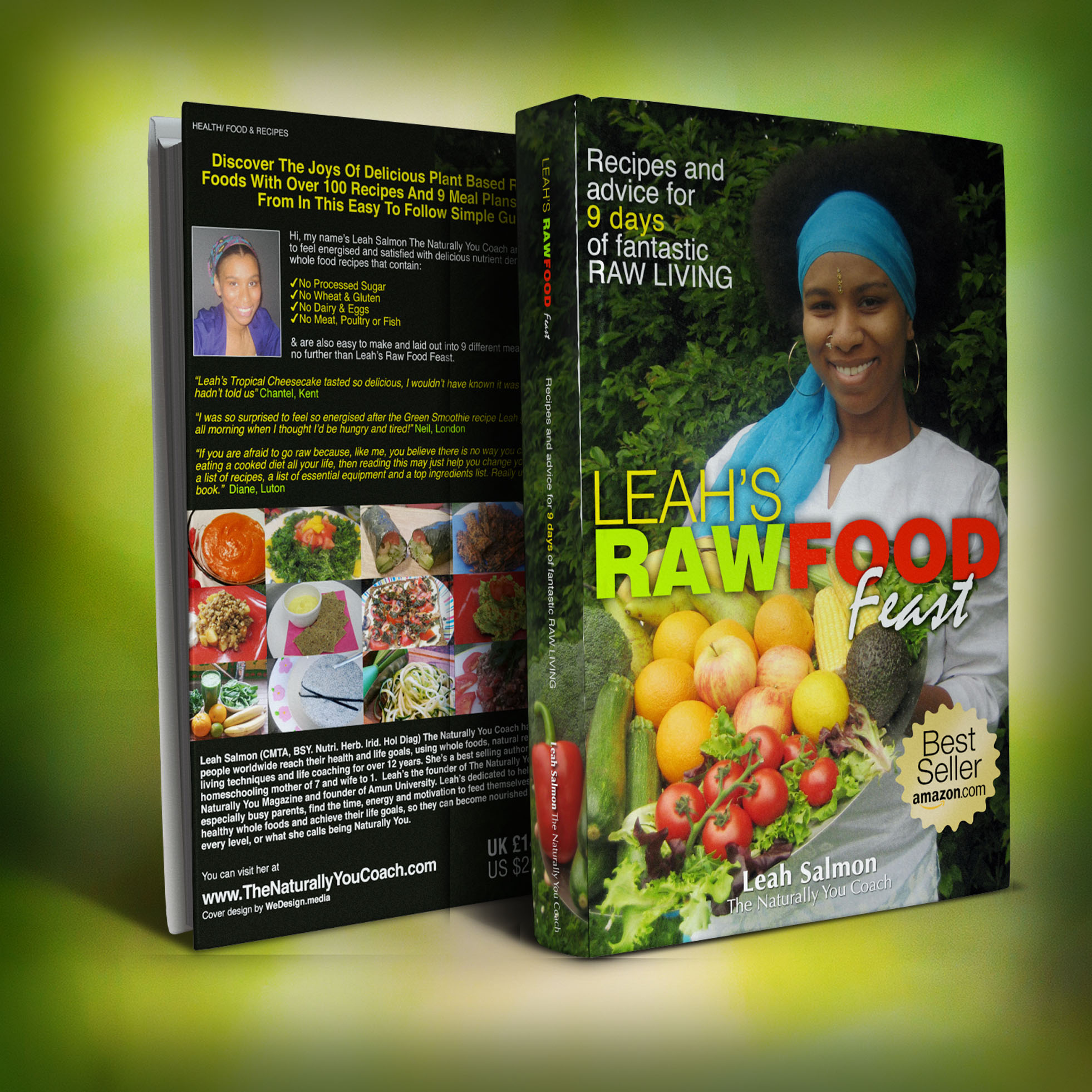 Leahs raw food feast raw food recipe book the naturally you coach leahs raw food feast raw food recipe book forumfinder Images