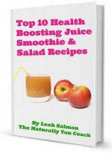 salads, juices, smoothies recipe book