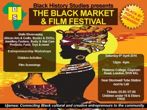Black Market film festival black history studies