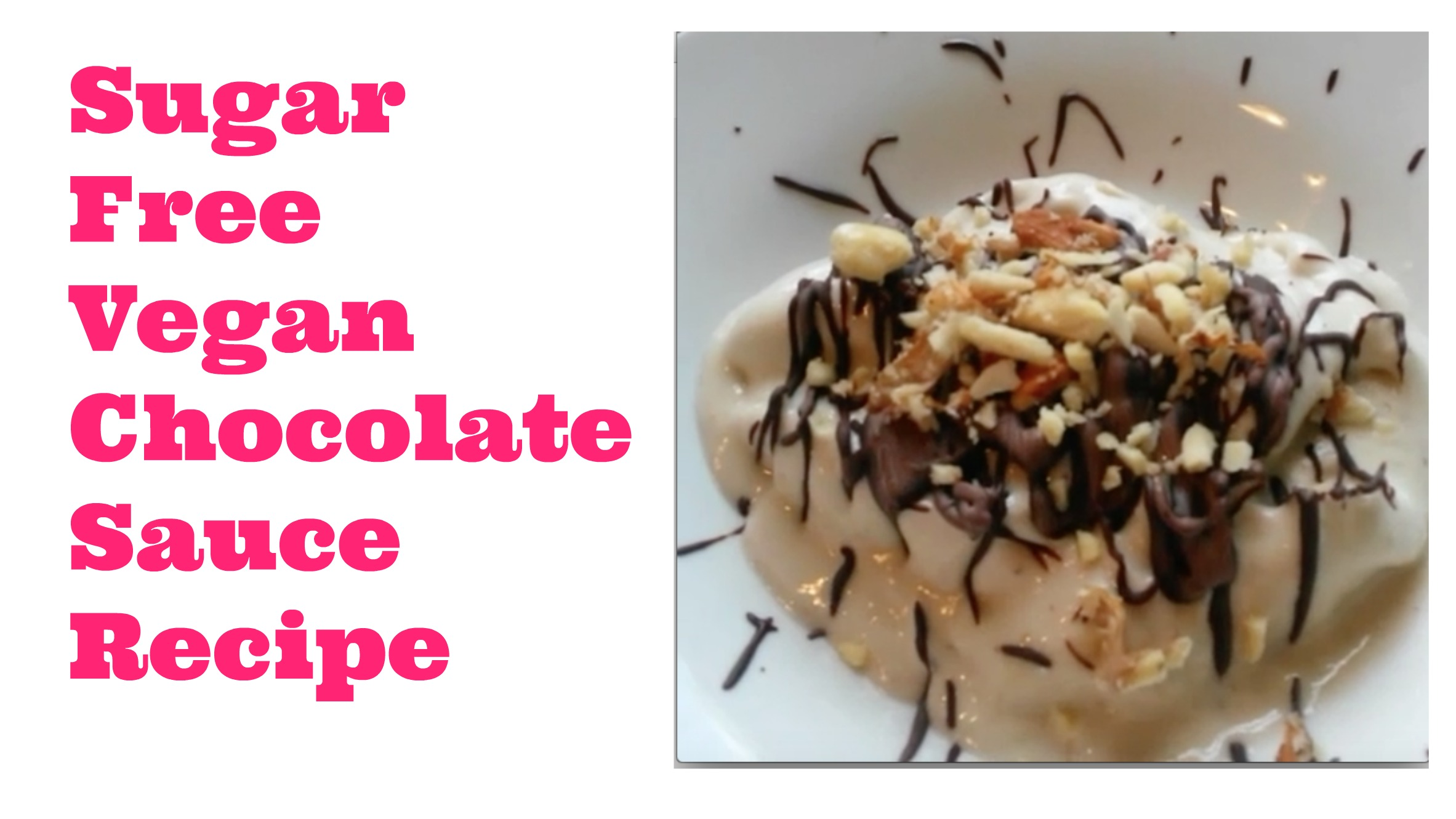 vegan chocolate sauce recipe