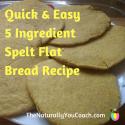 Simple Flat Spelt bread Recipe