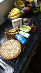 vegan banana cake recipe