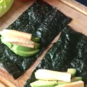 Raw Vegan Nori Wrap Lunch Idea